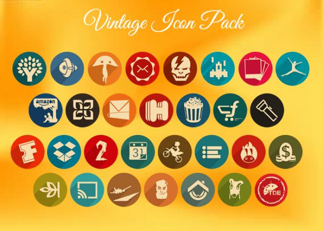 Vintage – Icon Pack V5.8