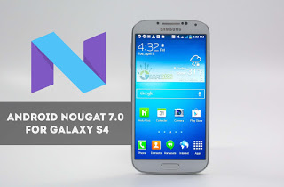 Android 7.0 Nougat AOSP ROM For AT&T Galaxy S4 SGH-I337