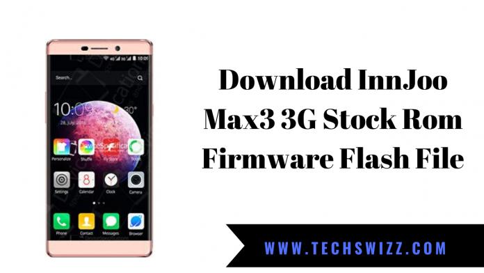 Download InnJoo Max3 3G Stock Rom Firmware Flash File