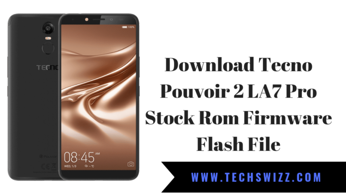 Download Tecno Pouvoir 2 LA7 Pro Stock Rom Firmware Flash File