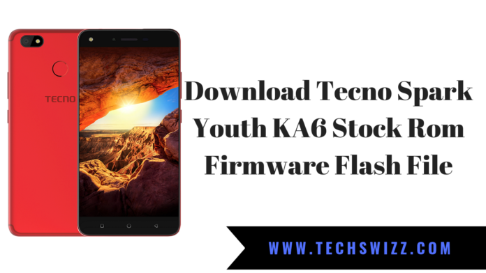 Download Tecno Spark Youth KA6 Stock Rom Firmware Flash File