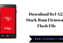 Download Itel A23 Stock Rom Firmware Flash File