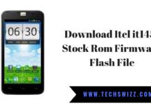 Download Itel it1451 Stock Rom Firmware Flash File