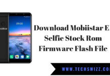 Download Mobiistar E1 Selfie Stock Rom Firmware Flash File