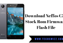 Download Neffos C5A Stock Rom Firmware Flash File
