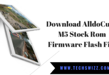Download AlldoCube M5 Stock Rom Firmware Flash File
