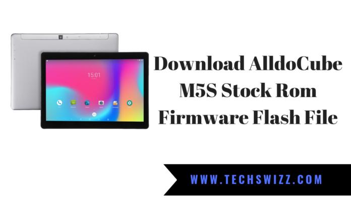 Download AlldoCube M5S Stock Rom Firmware Flash File