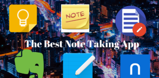 The Best Note Taking App