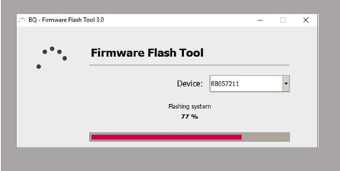BQ Firmware Flash Tool Flashing Sysytem