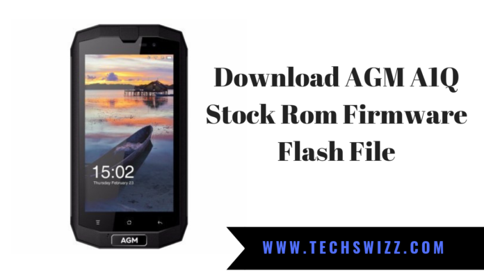 Download AGM A1Q Stock Rom Firmware Flash File