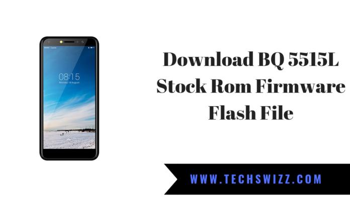Download BQ 5515L Stock Rom Firmware Flash File