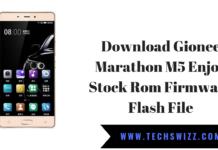 Download Gionee Marathon M5 Enjoy Stock Rom Firmware Flash File