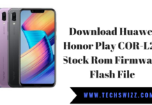Download Huawei Honor Play COR-L29 Stock Rom Firmware Flash File