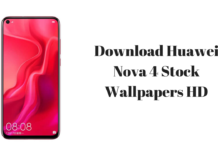 Download Huawei Nova 4 Stock Wallpapers HD