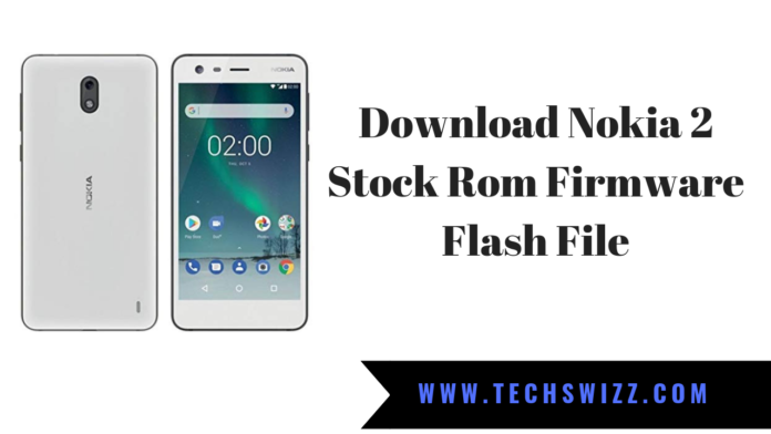 Download Nokia 2 Stock Rom Firmware Flash File