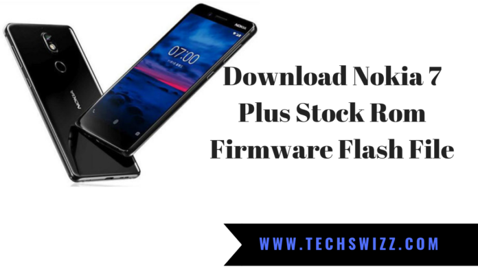 Download Nokia 7 Plus Stock Rom Firmware Flash File