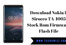 Download Nokia 8 Sirocco TA-1005 Stock Rom Firmware Flash File