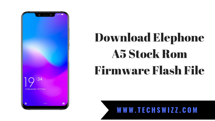 Download Elephone A5 Stock Rom Firmware Flash File