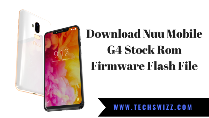 Download Nuu Mobile G4 Stock Rom Firmware Flash File