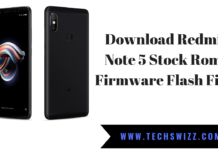 Download Redmi Note 5 Stock Rom Firmware Flash File