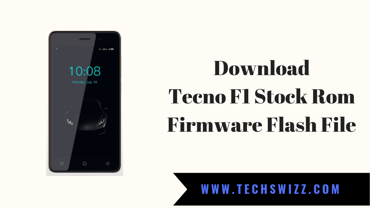 Download Tecno F1 Stock Rom Firmware Flash File +DA File