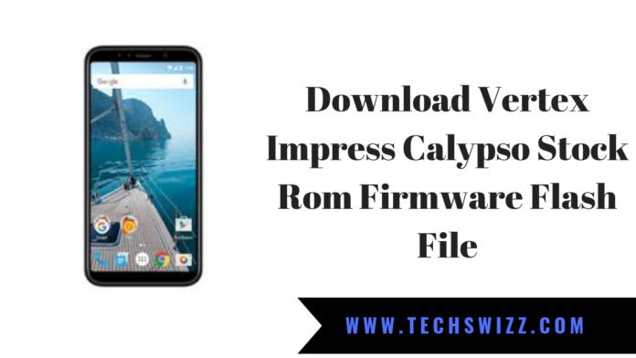 Download Vertex Impress Calypso Stock Rom Firmware Flash File