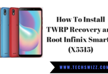 How To Install TWRP Recovery and Root Infinix Smart 2 (X5515)