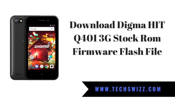 Download Digma HIT Q401 3G Stock Rom Firmware Flash File