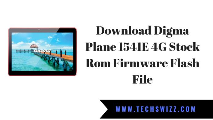 Download Digma Plane 1541E 4G Stock Rom Firmware Flash File