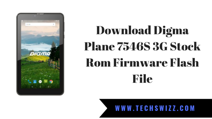 Download Digma Plane 7546S 3G Stock Rom Firmware Flash File