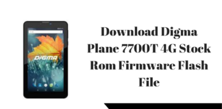 Download Digma Plane 7557 4G Stock Rom Firmware Flash File