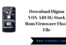 Download Digma VOX A10 3G Stock Rom Firmware Flash File