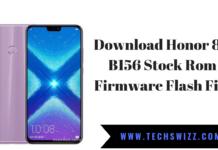 Download Honor 8X B156 Stock Rom Firmware Flash File