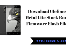 Download Ulefone Metal Lite Stock Rom Firmware Flash File