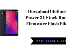 Download Ulefone Power 3L Stock Rom Firmware Flash File