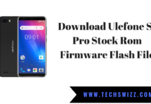 Download Ulefone S1 Pro Stock Rom Firmware Flash File