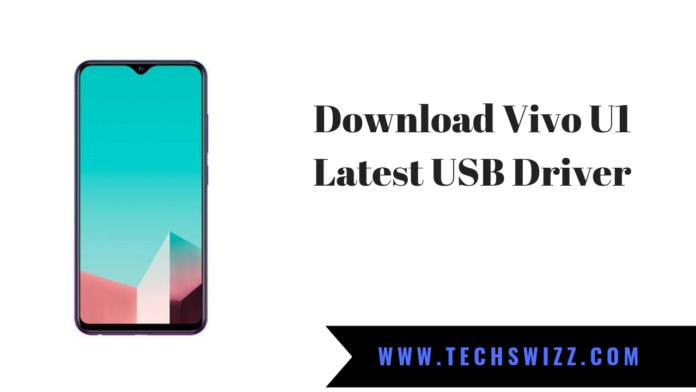 Download Vivo U1 Latest USB Driver