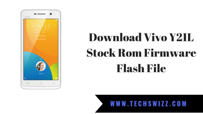 Download Vivo Y21L Stock Rom Firmware Flash File