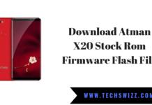 Download Atman X20 Stock Rom Firmware Flash File