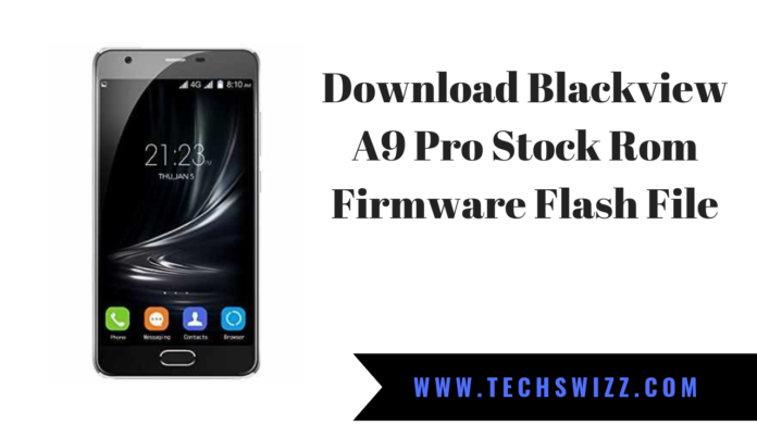 Download Blackview A9 Pro Stock Rom Firmware Flash File