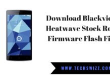 Download Blackview Heatwave Stock Rom Firmware Flash File