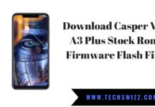 Casper Via A3 Plus Stock Rom Firmware Flash File
