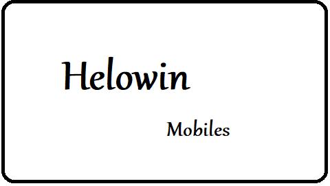 Download Helowin Plus Stock Rom Firmware Flash File