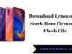 Download Lenovo Z5s Stock Rom Firmware Flash File