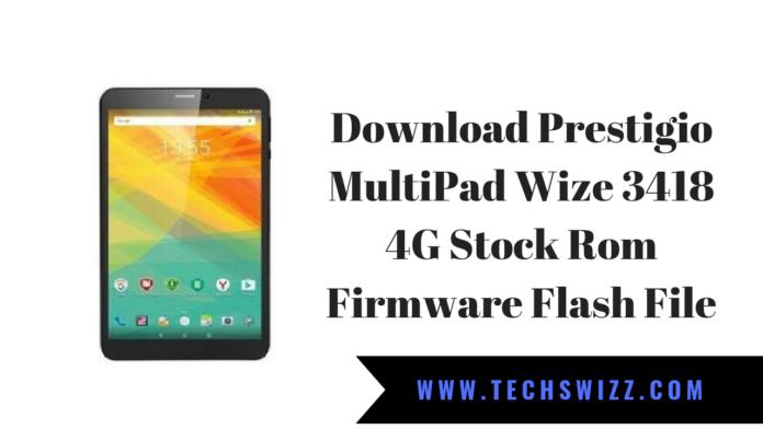 Download Prestigio MultiPad Wize 3418 4G