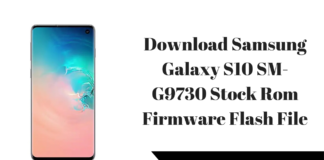 Download Samsung Galaxy S10 SM-G9730 Stock Rom Firmware Flash File