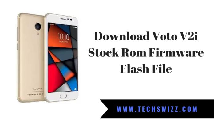 Download Voto V2i Stock Rom Firmware Flash File
