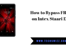 How to Bypass FRP on Intex Staari 12