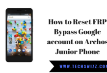 How to Reset FRP Bypass Google account on Archos Junior Phone