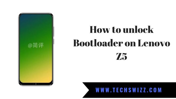 How to unlock Bootloader on Lenovo Z5